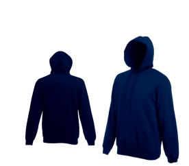 Fruit Of The Loom HOODED SWEAT Deep Navy