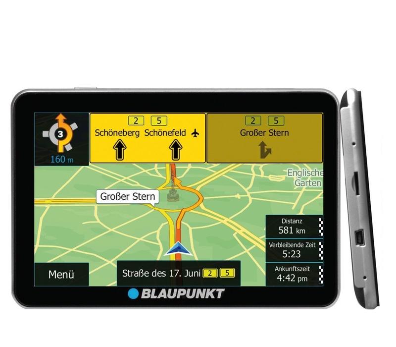 Blaupunkt GPS navigácia TravelPilot 73 EU LMU