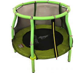 Aga gyerek trambulin 116 cm Light Green + védőháló