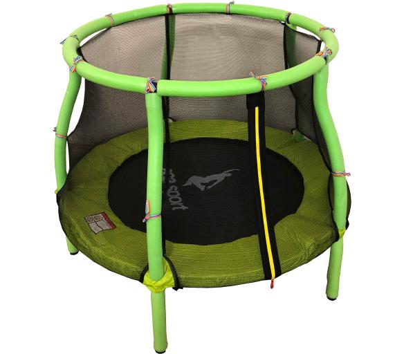 Aga Dětská trampolína 116 cm Light Green + ochranná síť