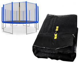 Chiemsee Siatka do trampoliny 488cm 16ft zewnętrzna na 12 słupków