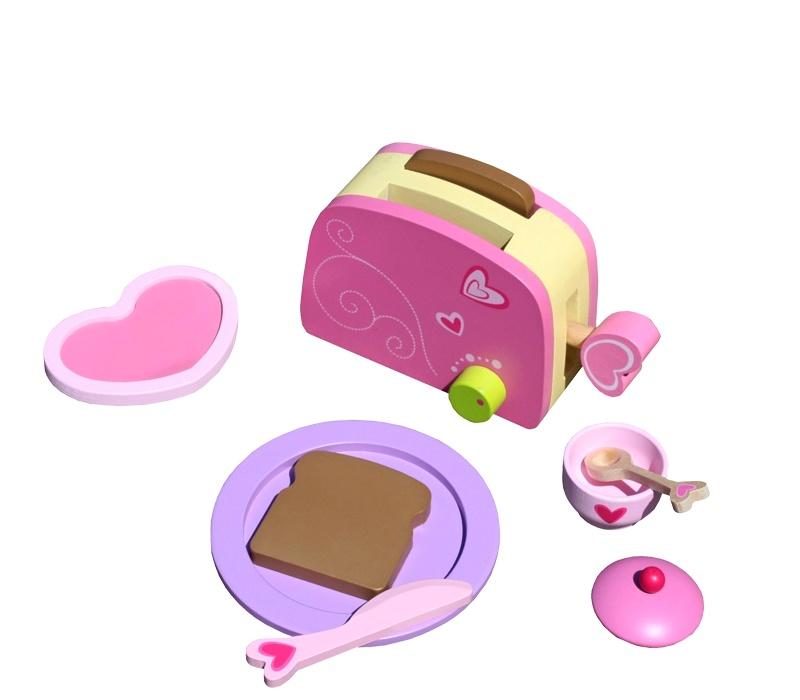 Aga4Kids Toaster BREAKFAST TOY