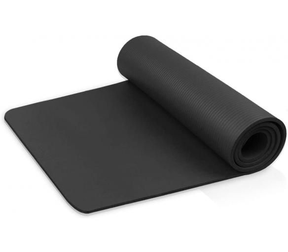 Linder Exclusiv podložka na cvičení YOGA Black 180x80x1 cm