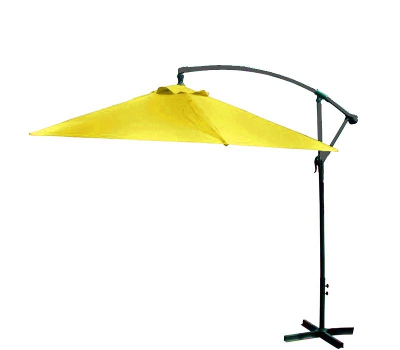 Aga Záhradný slnečník konzolový EXCLUSIV BONY 300 cm Yellow