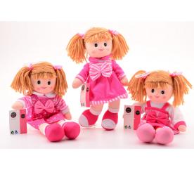 Látková panenka Baby Rose 40 cm