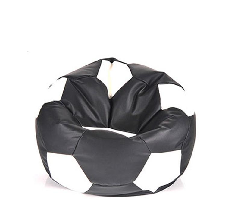 Aga Sedací vak BALL Farba: Čierna - Biela