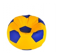 Aga Sedací vak BALL Farba: Modrá - Žltá