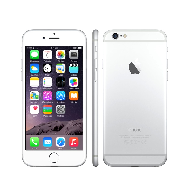 Apple iPhone 6 64GB Silver Kategorie: B