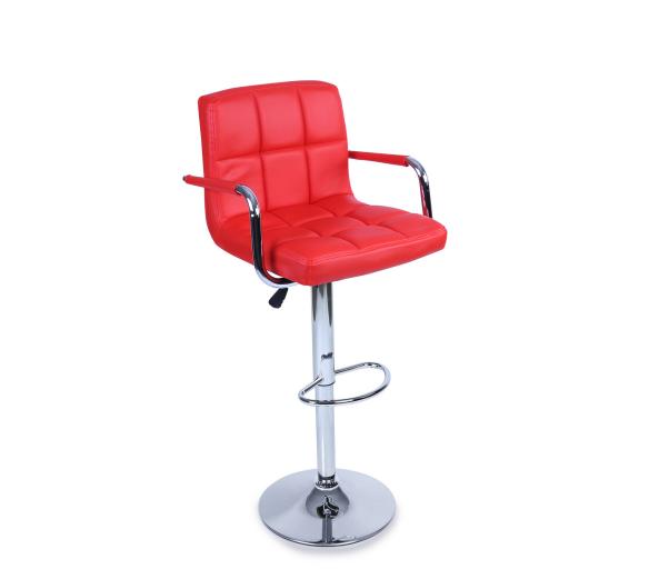 Tresko Barová židle s područkami BH014 Red