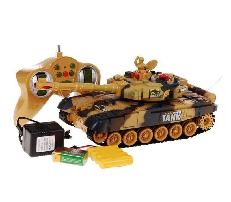 Aga RC Tank WAR Yellow 1:36