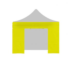 Aga oldalfal ajtóval PARTY 3x3 m Yellow