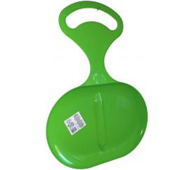 Aga Sanki plastikowe JABŁKO ŚLIZG dla dzieci Zielony