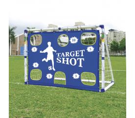 Aga Fotbalová branka TARGET SHOT& SOCCER GOAL JC-7180T 183x130x96 cm