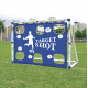 Aga Bramka piłkarska TARGET SHOT& SOCCER GOAL JC-7180T 183x130x96 cm