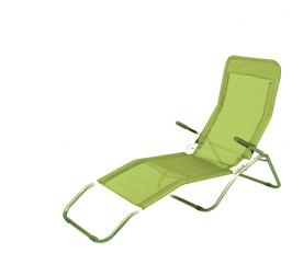 Linder Exclusiv Zahradní lehátko SIESTA MC372171GG Yellow Green