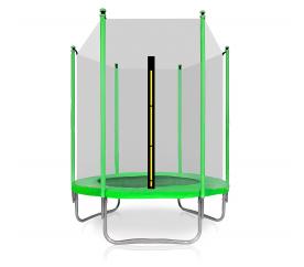 Aga SPORT TOP Trampolína 150 cm Light Green + ochranná sieť
