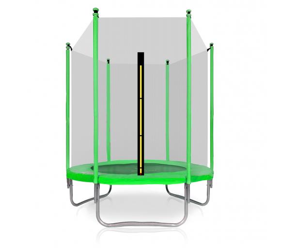Aga SPORT TOP Trambulin 150 cm Light Green + védőháló