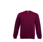 Fruit Of The Loom SET-IN SWEAT Burgundy