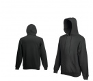 Fruit Of The Loom HOODED SWEAT Light Graphite