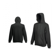 Fruit Of The Loom HOODED SWEAT Light Graphite pulóver