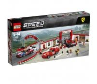 Lego Speed Champions Úžasná garáž Ferrari