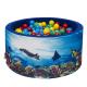Aga Suchý bazén 90x40 cm s míčky 232