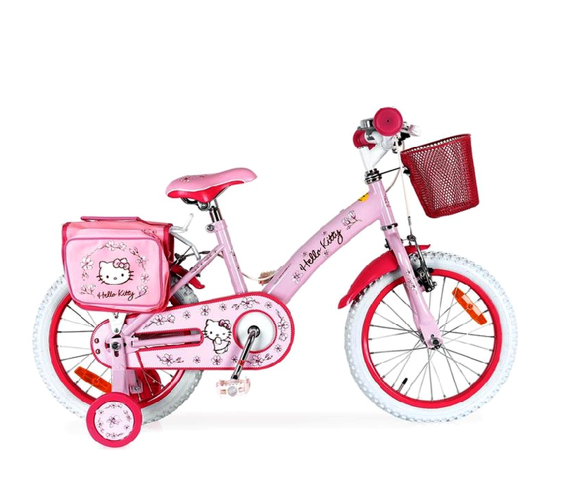 "Injusa Detský bicykel HELLO KITTY 16"" Pink 2017"