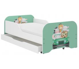 Wooden Toys Dziecięce łóżko Trip 140x70 cm