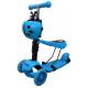 R-Sport Dětská třikolová koloběžka 5v1 s LED kolečky H3 Blue