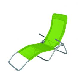 Linder Exclusiv Zahradní lehátko SIESTA MC372171LG Lime Green