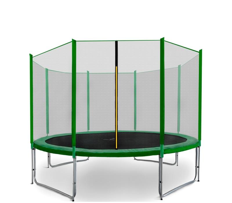 Aga SPORT PRO Trampolína 335 cm Dark Green + ochranná síť