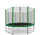 Aga SPORT PRO Trampolína 335 cm Dark Green + ochranná sieť