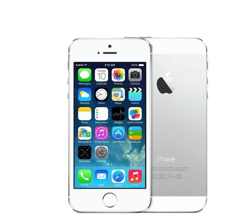Apple iPhone 5S 16GB Silver Kategorie: C