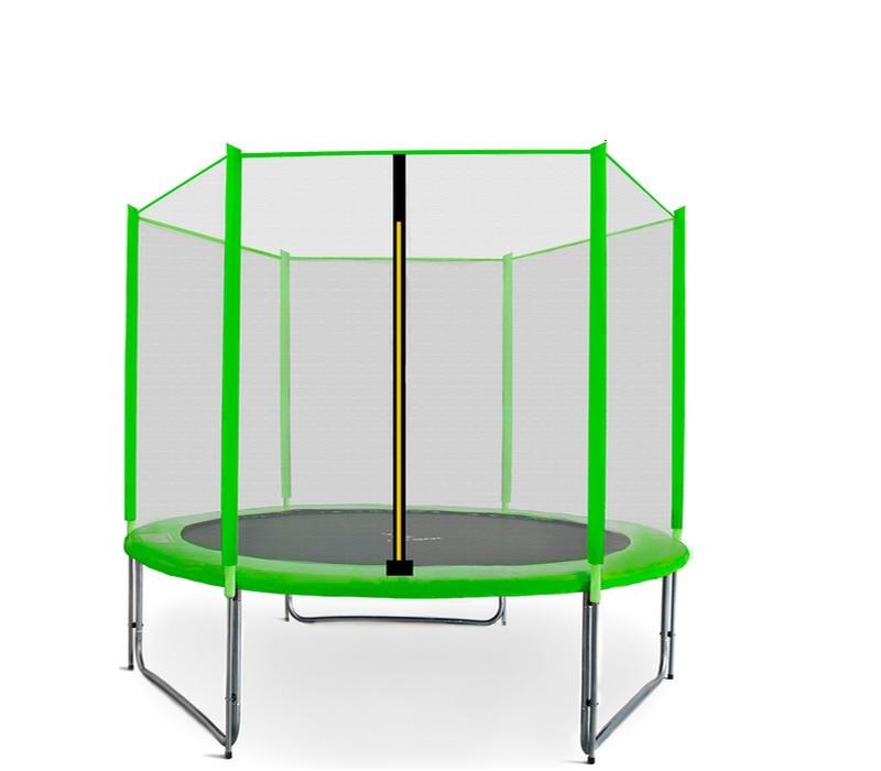 Aga SPORT PRO Trampolína 220 cm Light Green + ochranná sieť