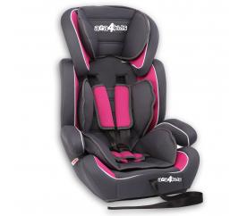 Aga4Kids Autosedačka Grey - Pink