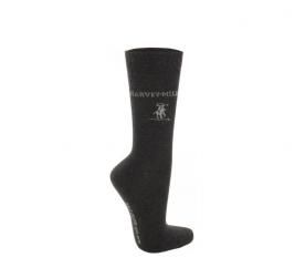 Harvey Miller Ponožky 3 PACK Anthracit