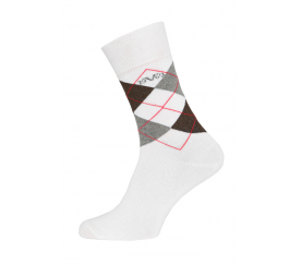 Versace zoknik BUSINESS 5-Pack White-Grey (C175)