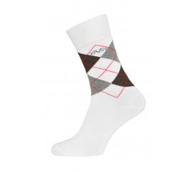 Versace 19.69 Ponožky BUSINESS 5-Pack White-Grey (C175)