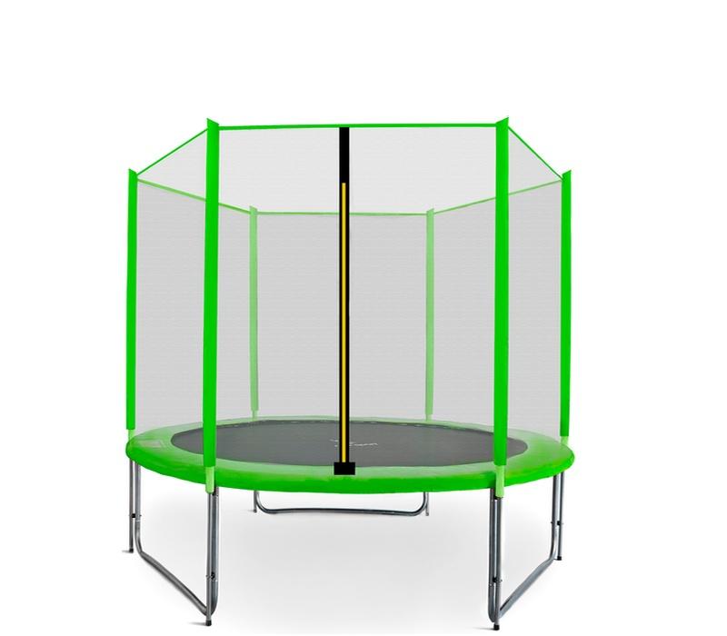 Aga SPORT PRO Trampolína 180 cm Light Green + ochranná sieť
