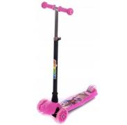 Aga4Kids Gyerek háromkerekű roller rózsaszín