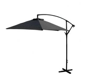 Aga Zahradní slunečník EXCLUSIV BONY 300 cm Dark Grey