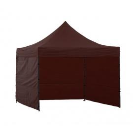 Aga Prodejní stánek 3S POP UP 3x3 m Brown