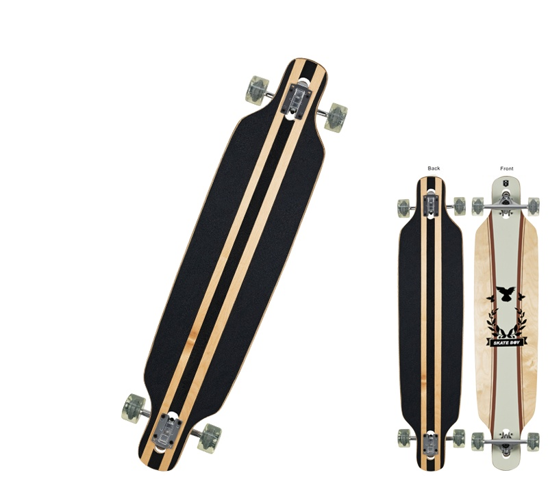 Clamaro Longboard APEX Brown 43
