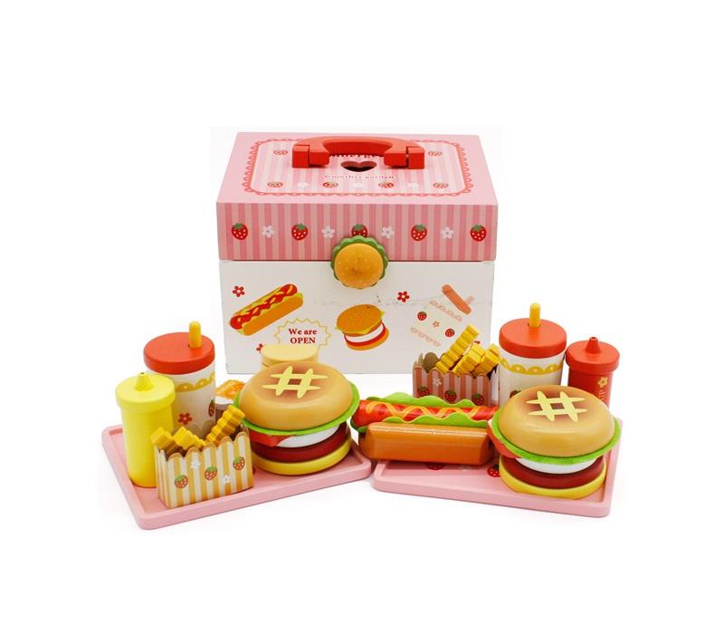 Aga4Kids Hamburger kufrík HAMBURGER TOY