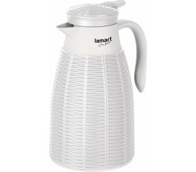 Lamart termoska Ratan LT4041 1l - bílá - Lamart