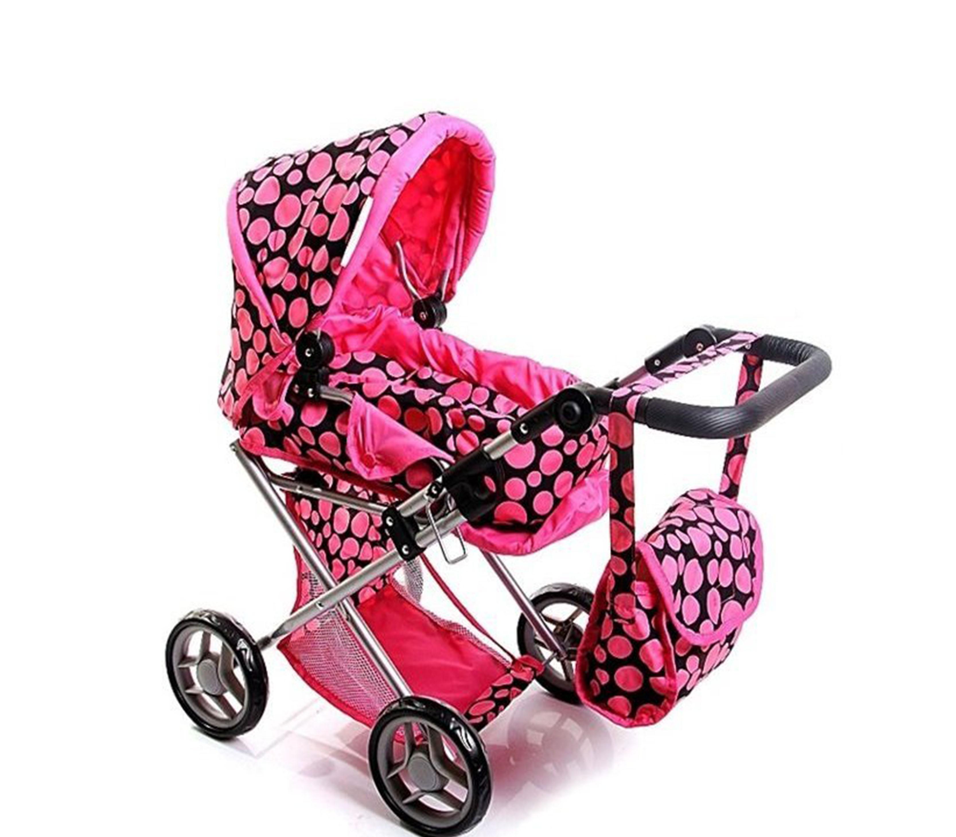 Doris Kočárek pro panenky 9346  Hot Pink