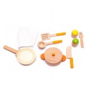 Aga4Kids Dětské dřevěné nádobí COOKWARE SET 1