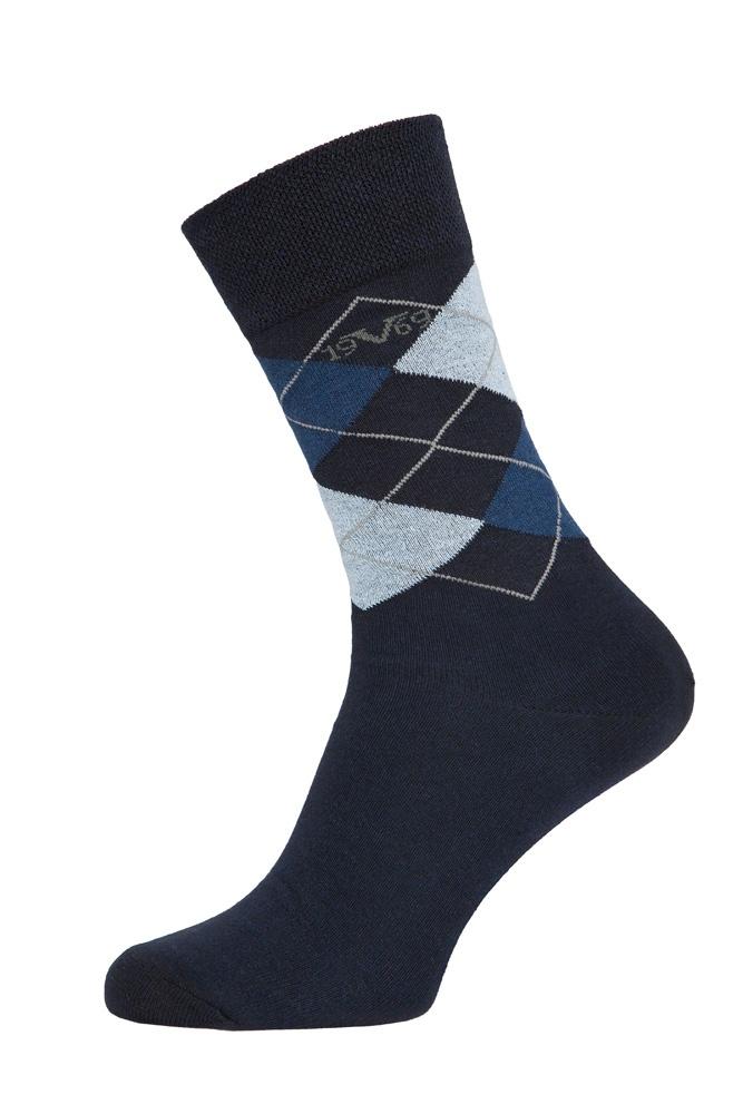 Versace 19.69 Ponožky BUSINESS 5-Pack Navy-Blue (C171)
