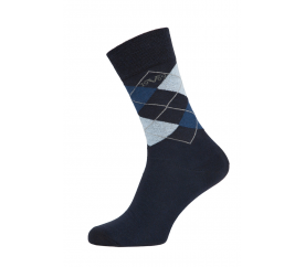 Versace zoknik BUSINESS 5-Pack Navy-Blue (C171)