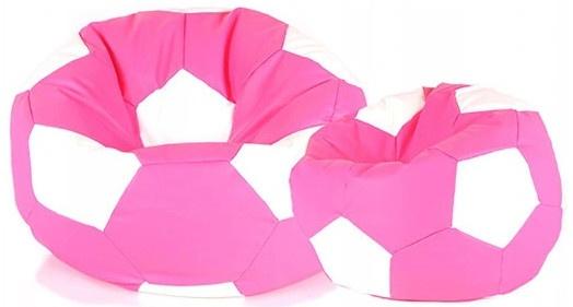 Aga Sedací vak BALL Farba: Ružová - Biela
